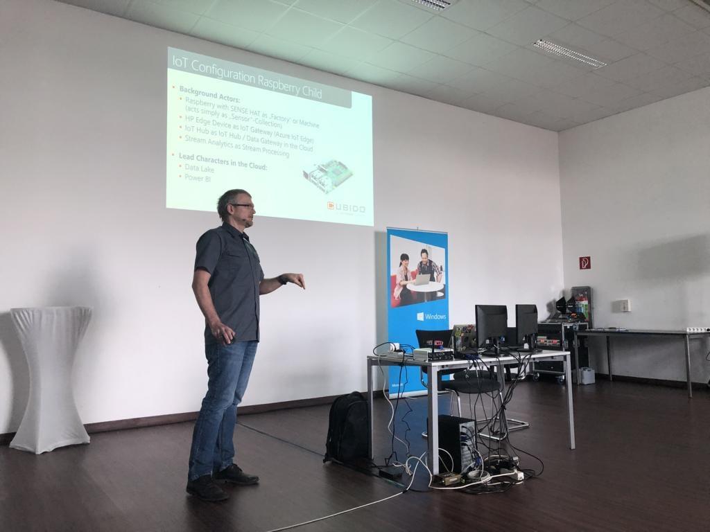 Vortrag Mario Schnalzenberger