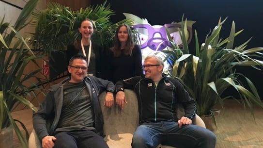 cubido @ SQL Konferenz (Cornelia Volaucnik, Wolfgang Straßer, Susanne Zaunmayr, Mario Schnalzenberger)