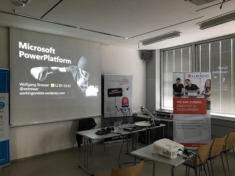 Vortrag Wolfgang Strasser, Global Azure Bootcamp 2019