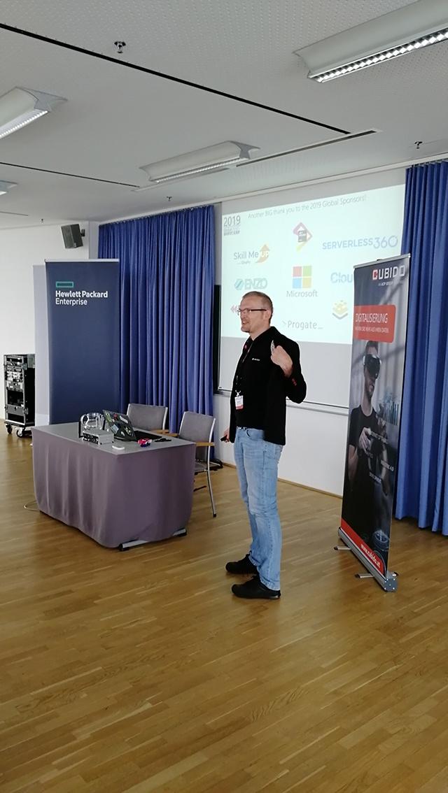 Vortrag Mario Schnalzenberger, Global Azure Bootcamp 2019