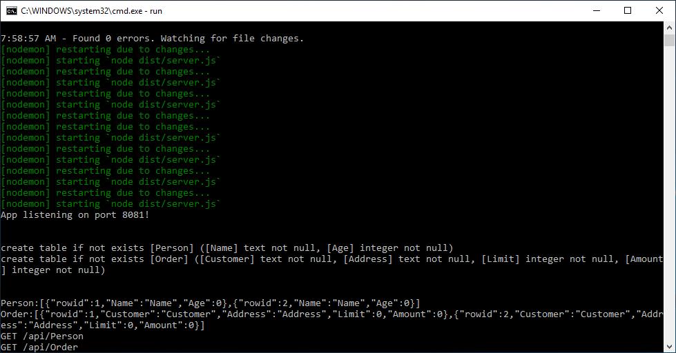 Webentwicklung mit TypeScript in Front- und Backend
