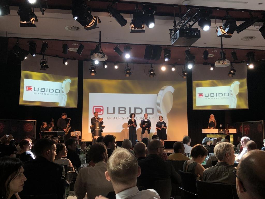 cubido ist Gewinner der Kategorie Digitalisierung und IoT