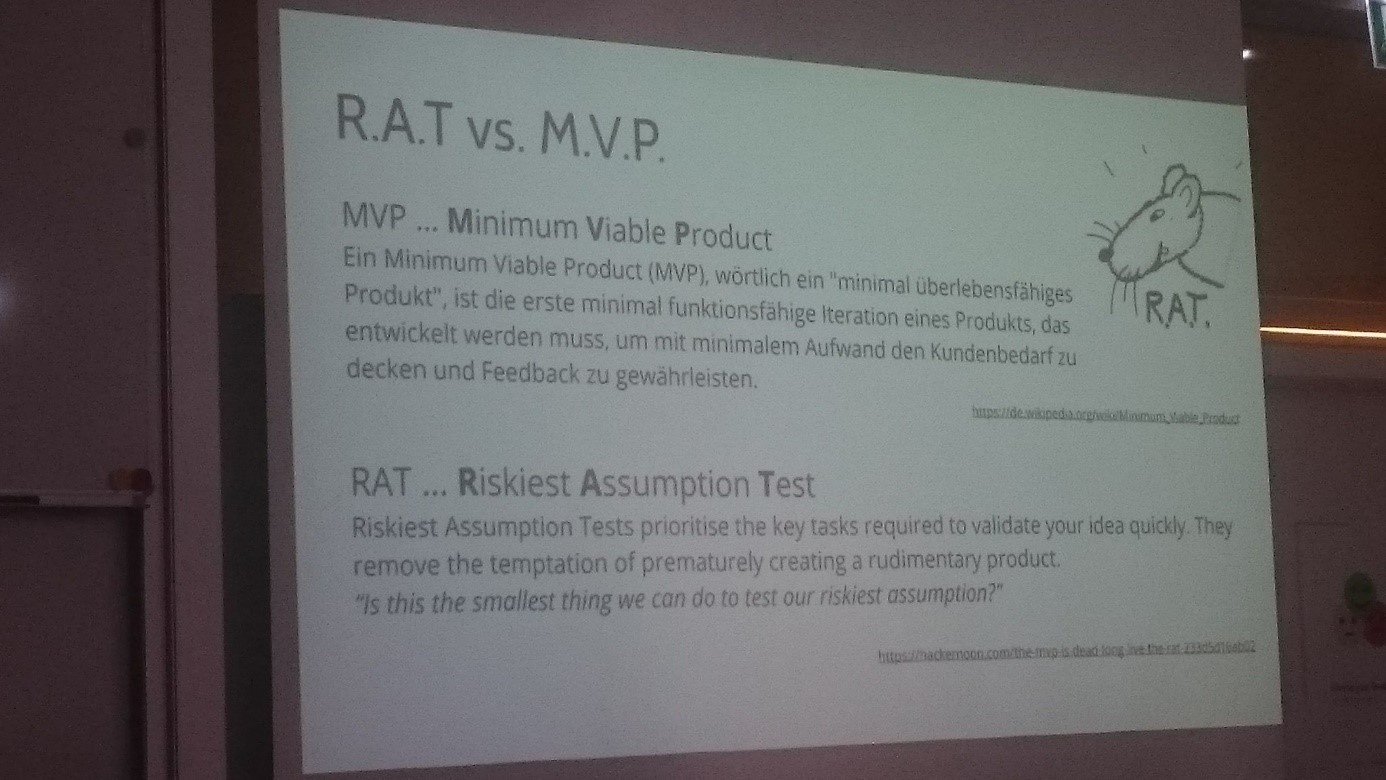 R.A.T. vs. M.V.P. (Florian Hackl-Kohlweiß: Typical office environment sucks for creative work: How we create our new office to empower creative problem-solvers)